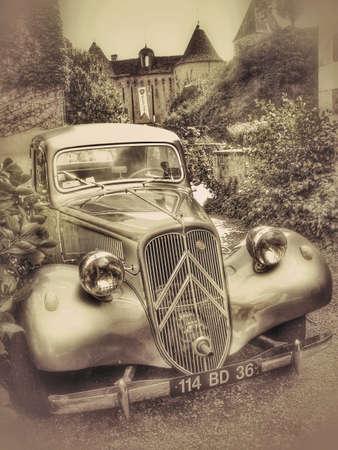 Retro vintage Citroen car France