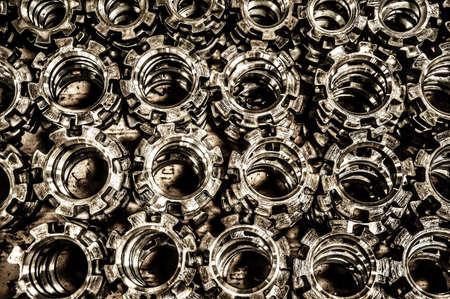 industrieel: Staal Stockfoto
