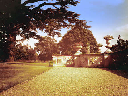 tudor: Stately home Charlecote park Warwickshire midlands England uk
