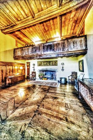 Stately home interior