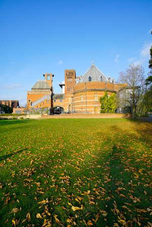 rsc: shakespeare memorial theatre stratford-upon-avon  warwickshire the midlands england uk