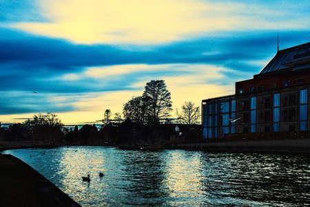 avon: Stratford upon Avon river Avon