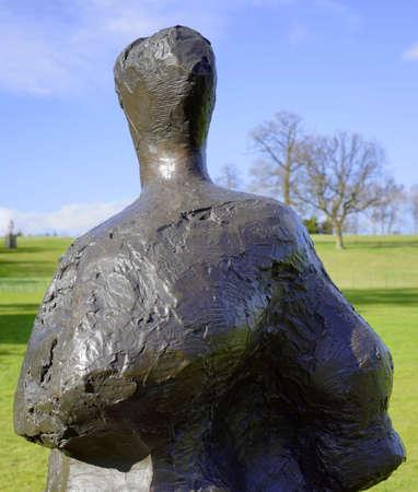 creative: Sculpture in public park Stock Photo