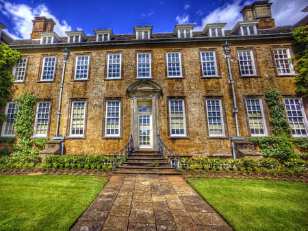 stately home: Stately home Stock Photo