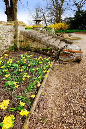 stately home: Gardens in stately home
