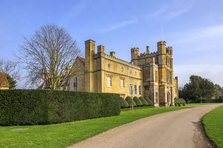 stately home: Coughton court stately home
