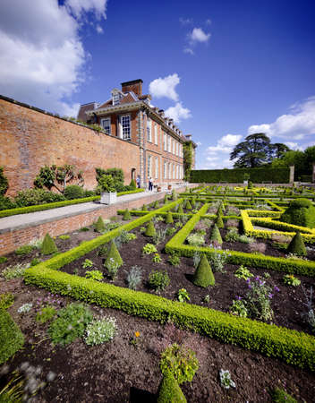 stately home: Hanbury hall stately home worcestershire england uk Stock Photo
