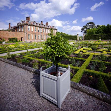 stately home: Hanbury hall stately home worcestershire england uk Stock Photo