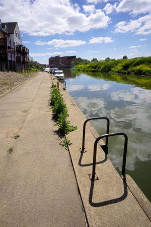 severn: river severn tewksbury gloucestershire UK