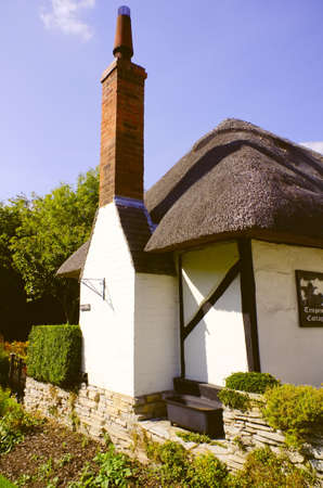 timbering: Old cottage Stock Photo
