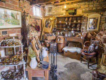 antiques: Antique shop