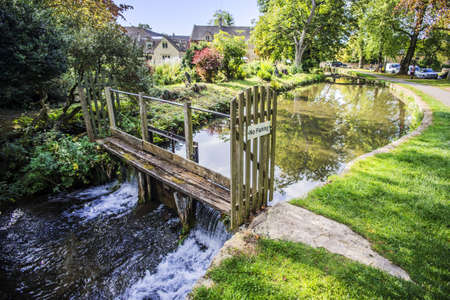 eye: River eye lower slaughter cotswolds uk