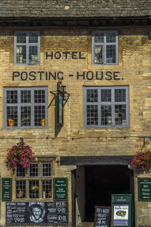 cotswold: Stow on the Wold villaggio cotswold uk