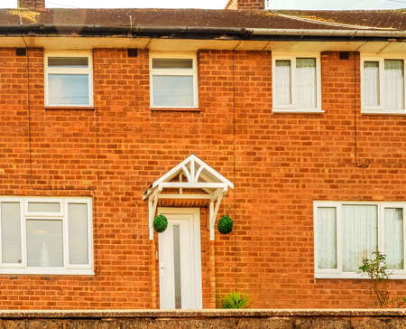 terraced: housing homes property - a  terraced house