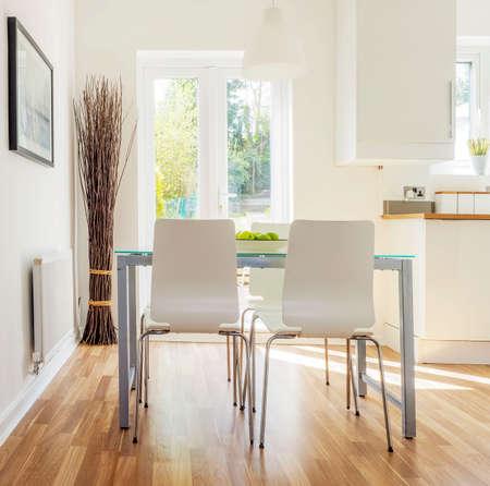 Farbbild Küche In Neu Restaurierten Haus Umgebaut Arbeit Oberflächen ...