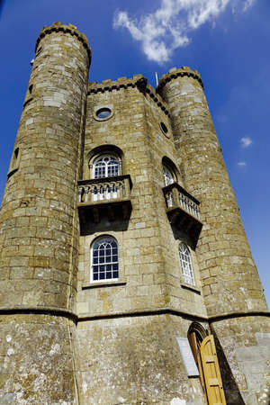 broadway tower: Briadway tower Stock Photo