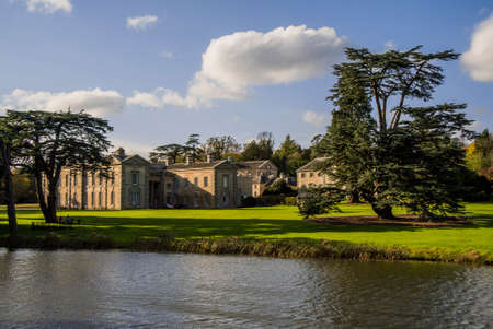 historic architecture: compton verney estate stately home warwickshire uk