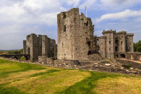 wales: raglan castle wales Editorial