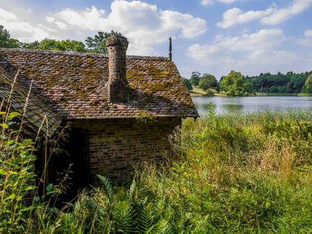 dudmaston, shropshire, england uk Stock Photo