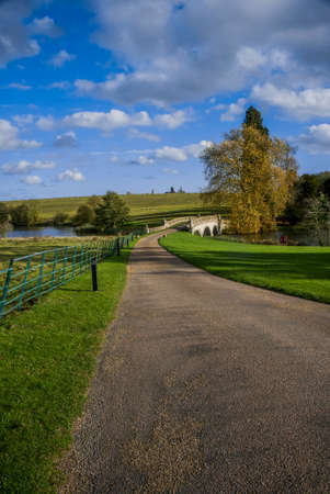 stately home: compton verney estate stately home warwickshire uk