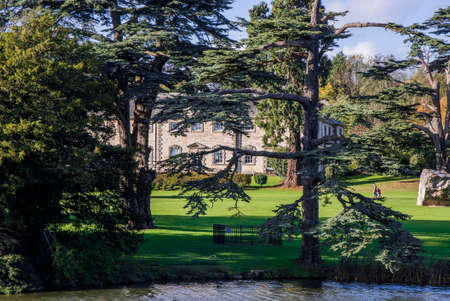 english west country: compton verney estate stately home warwickshire uk