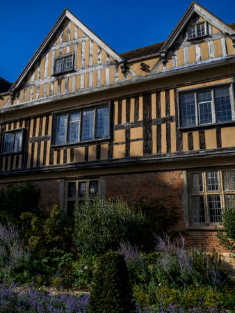 stately home: coughton court stately home uk Stock Photo