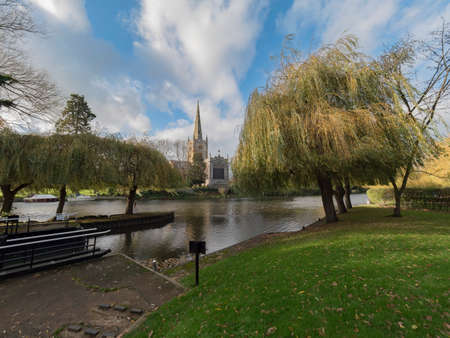 Stratford upon avon warwickshire midlands England UK Stock Photo