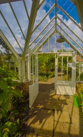 greenhouse ryton organic gardens nr. coventry midlands england Sajtókép