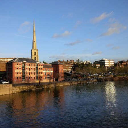 worcester worcestershire city  town
