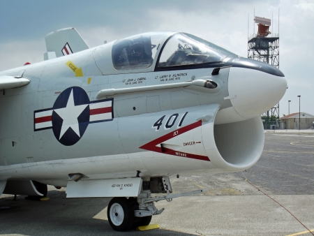 preservation: Fighter jet  Image captured at The Military Aviation Preservation Society in Canton Ohio