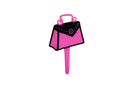 topper: Pink Muffin Bag Lady Topper
