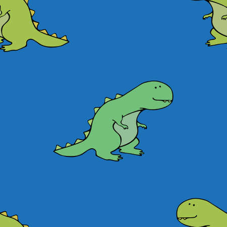 trex: T-rex funny pattern comic, cute, design, dino