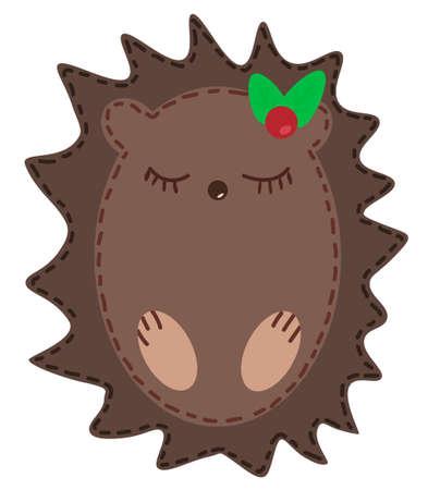 cartoon hedgehog: Cute cartoon hedgehog illustration Illustration