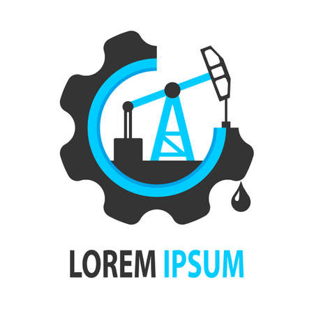 oil spill: A universal logo for the oil companies