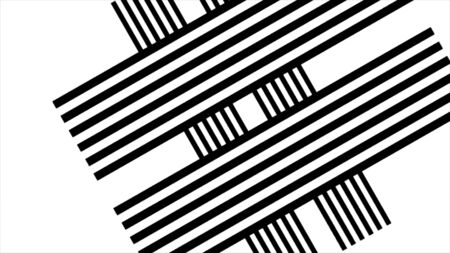 Abstract black and white stripe background with shade. Abstract black and white twirl background, Vortex. blck and white swirl or cubes