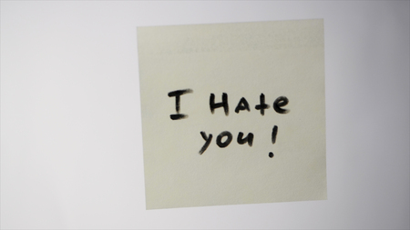 I Hate You Stock Photos And Images 123rf