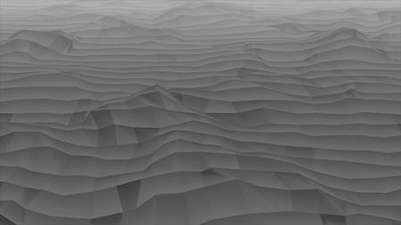 Ground Crack Earthquake 3D Renderings Animationen. Enorme Dürre-Ebenen-globale Erwärmung und Klimawandel - sterbende Animation der Erdkonzept-Luft-3D Standard-Bild - 94534311