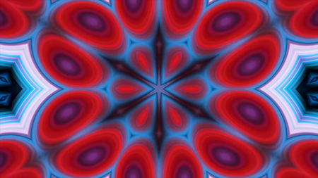 Surrealistic abstract background. Abstract kaleidoscope pattern for design