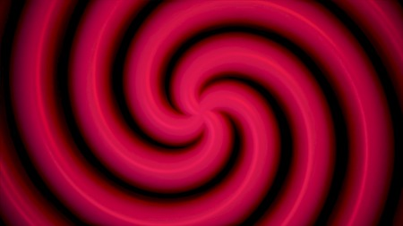 Abstract soft color spiral shape dotted animation background. Color abstract spiral