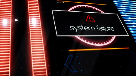 Program failure warning notifications all over the screen, security alert concept. Animation. Computer monitor showing windows with system failure messages with red indicators on background.