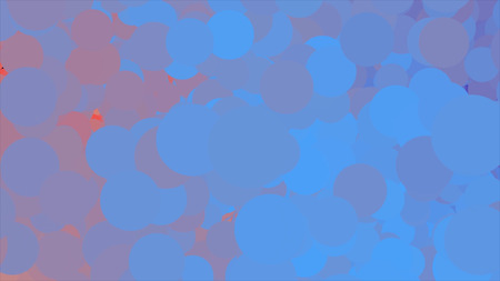 Beautiful bubbles flying endlessly from left to right and changing colors. Animation. Chaotic purple, pink, and lilac circles flowing and blinking, seamless loop.