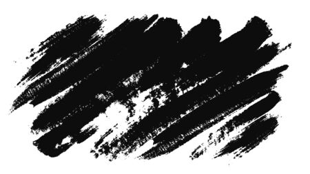 Abstract animation of ink masks by brush. Animation. Ink Brush Stroke Set. Perfect for motion graphics, digital composition