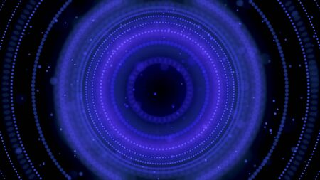 Abstract animation of beautiful hypnotic spiral. Animation. Beautiful tunnel relaxing plunges into depths of dark space