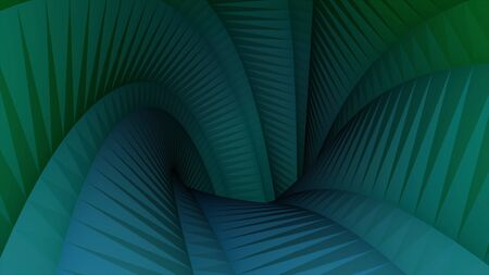 Colorful abstraction of polygonal background - 3d tunnel motion graphics animation new quality. Animation. Computer generated seamless loop abstract motion background Imagens