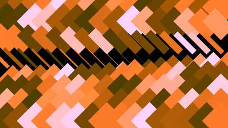 Abstract animation of colorful background of strokes and triangular shape. Animation. Background moving along rows of rectangular strokes in triangular direction 스톡 콘텐츠