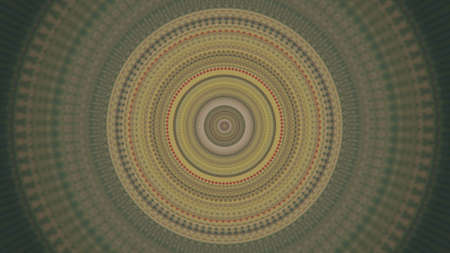 Abstract background with expanding hypnotic circles. Animation. Concept of hypnosis and mind control, endlessly flowing colorful rings. Stok Fotoğraf
