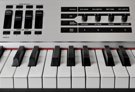 reverb: Electronic piano keyboard