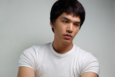 Portrait of Asian Male Model