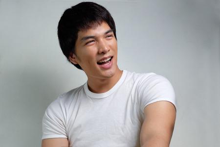 mope: Portrait of Asian Male Model