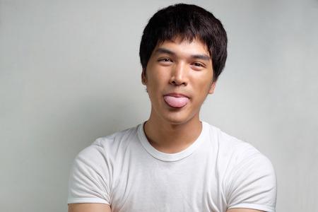 mannerism: Portrait of Asian Male Model